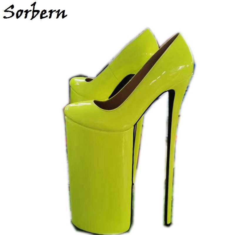 Sorbern 12 Inch High Heel Pumps Women