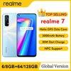 realme 7 NFC 6.5'' FHD+ 6/8GB 64/128GB 48MP Quad Cams Smartphone Helio G95 Octa Core 30W Dart Charge 5000mAh Mobile Phone 1