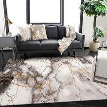 2x3 м Роскошные 8 мм толщина 3D ковры для церкви скандинавский мраморный узор ковер гостиная коврики с геометрическими узорами коврик для спальни дверной коврик