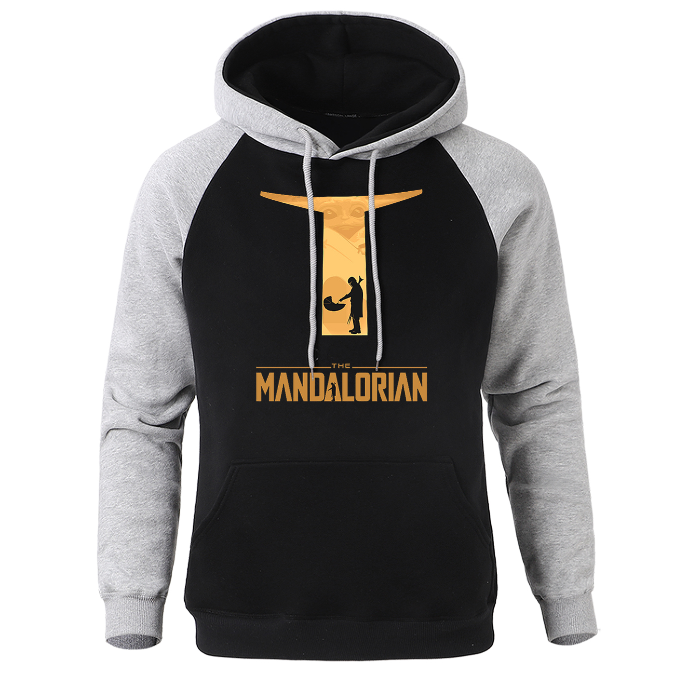 2020 New Male Warm Hoodies The Mandalorian Star Wars Brand Tracksuit Men Spring Fleece Mens Sweatshirt Clothing Personality Tops