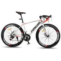 Neue marke Rennrad Aluminium Legierung Rahmen Brechen Wind SHIMAN0 14 Geschwindigkeit Stahl Rahmen Außen Radfahren Fahrrad Disc Bremse Bicicleta-in Fahrrad aus Sport und Unterhaltung bei
