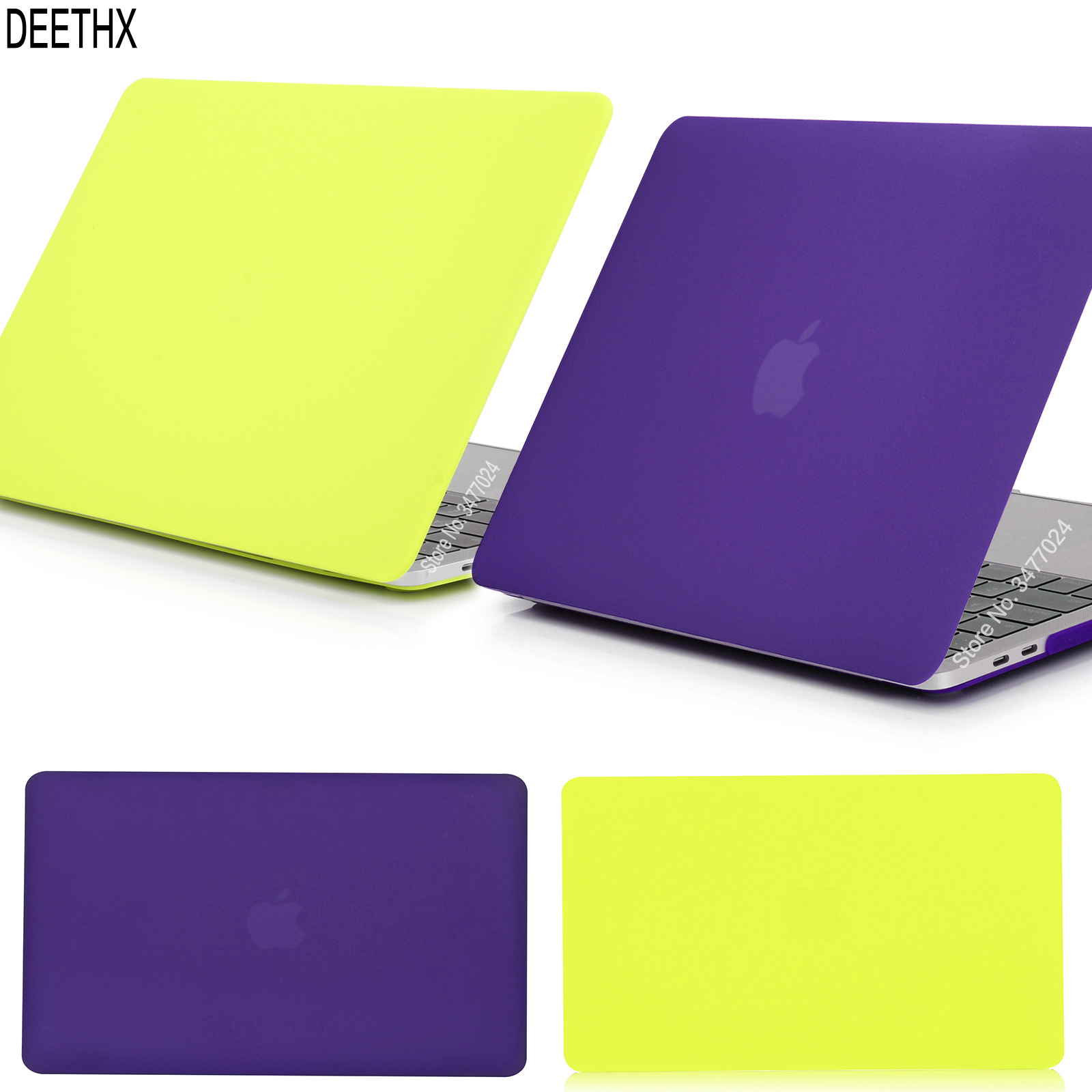 New Matte Laptop Case For apple Macbook Pro 13 inch 2019 new model A1706 <font><b>A1708</b></font> A1989 A2159, for <font><b>Mac</b></font> new pro 13.3 with Touch Bar image
