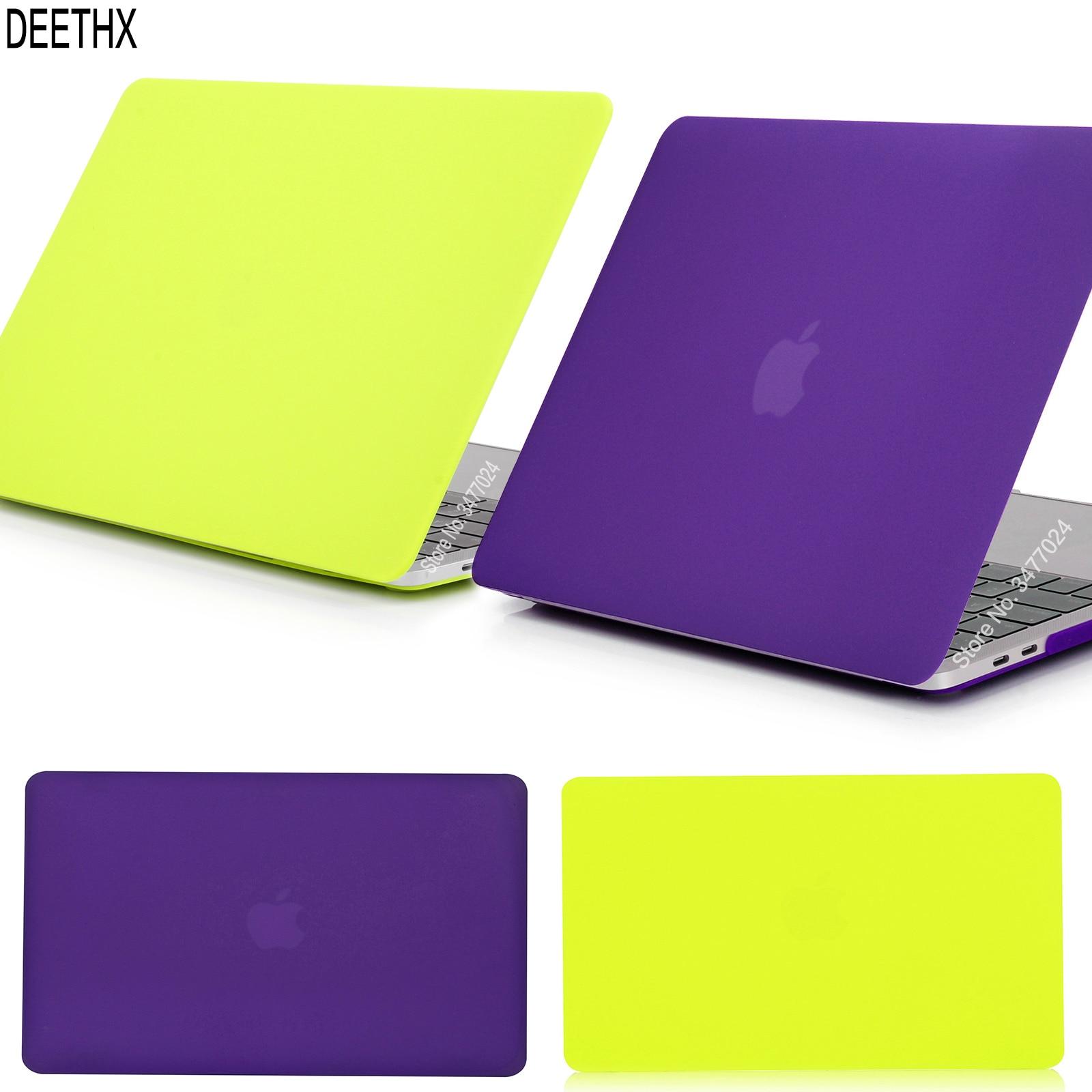 Новый матовый чехол для ноутбука apple Macbook Pro 13 дюймов 2019 новая модель A1706 A1708 A1989 A2159, для Mac New pro 13,3 с сенсорной панелью