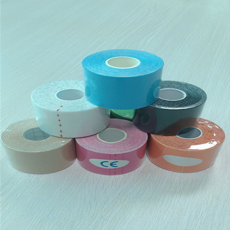 High Quality Kinesio Taping Physiotherapy Sports Tape Muscle Paste Kinesio Bandage Customizable