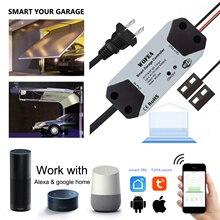 Wofea Wi-Fi переключатель умный Открыватель двери гаража управление Лер с Alexa Google Home Smart Life/Tuya APP управление