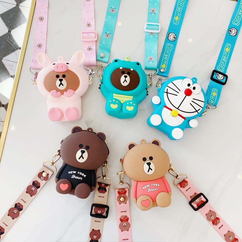 Leisure New Crossbody Bags For Women Portable Shoulder Bags Cute Cartoon Anime Mini Womens Handbags And Purses Clutch Hand Bag