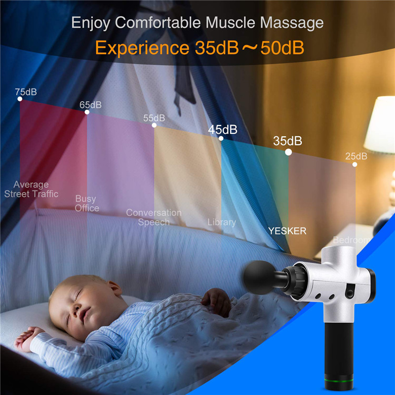 Image 5 - EMS wireless massage gun muscle stimulator deep tissue body massager relaxing rouge shaping pain relief-in Massage & Relaxation from Beauty & Health