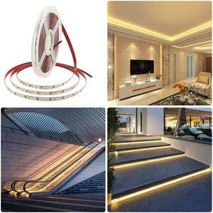 Image 3 - Satılık 2020 yeni 5m 5 yıl garanti beyaz yüksek CRI 95 LED şerit ışık DC 12V 2835 LED sıcak beyaz doğa beyaz