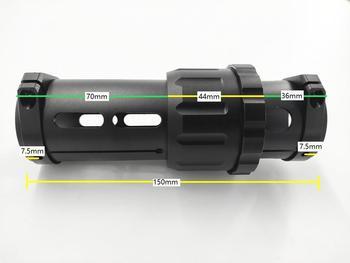 1 Unidad De Aleación De Aluminio De 40mm Brazo Plegable Horizontal Tubo...