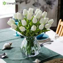 Flower Latex Fall Decorations Tulip Beauty Forever Flores Artificiales Wedding Valentine Gift