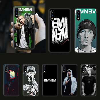 Eminem 8 Mile Rap God Phone Case hull For huawei honor play 6 7 8 9 10 view 20 A X i pro lite black back luxury waterproof image
