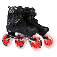 Big three wheeled adult roller skates for men and women roller skates inline skates adult professional speed skating skates