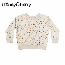 Sweater Baby Meteor T-Shirt Children's The Pullover Print Round-Neck Cartoon Long-Sleeved