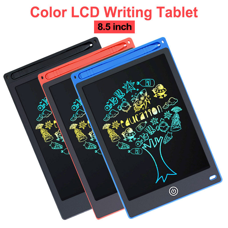 Les yeu LCD Writing Tablet Colorful Screen 6-inch LCD Tablet Gift for 3 4 5 6 Years Old Boy and Girls Electronic Drawing Tablet Drawing Pads