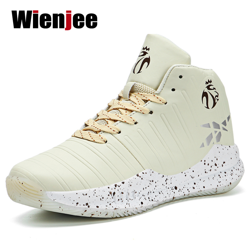 Shoes Cushioning Basketball-Shoes Outdoor-Sneakers High-Top Sports Breathable Men Tenis title=