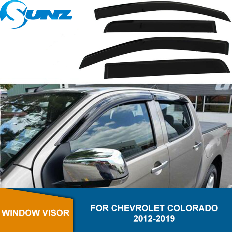 New Smoke Side Window Vent Visors Rain Guards for Chevrolet Trax 2013-2015