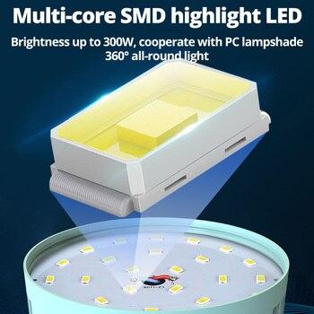 280W Newest Camping Light Solar Outdoor USB Charging 3 Mode tent Lamp Portable Lantern Night Emergency bulb Flashlight For BBQ 4