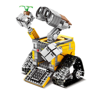 Image 3 - 695 قطعة اللبنات الخالق سلسلة فكرة روبوت كتل حسنا E عمل أرقام المبدعين اللبنات متوافق تكنيك اللعب