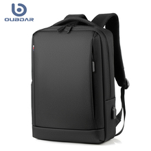 OUBDAR 2020 New Men Laptop Backpack Business Notebook Mochila Unisex Waterproof Back Pack USB Charging Bags Male Travel Bagpack