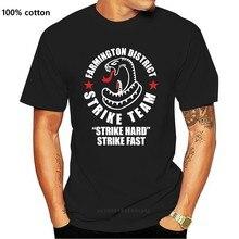 T-shirt de l'équipe de frappe du bouclier pour homme, Design de la série TV, meilleure vente, été, 2019