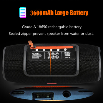 Wireless Bluetooth Super bass Speaker Waterproof Portable Outdoor Mini Column Loudspeaker sport hifi boombox stereo fm subwoofer 2