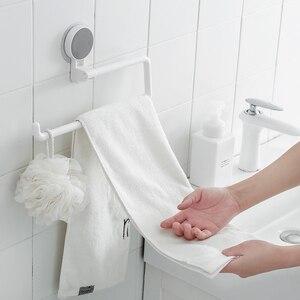 Image 3 - Kitchen Paper Holder Sticke Rack Roll Holder for Bathroom Towel Rack Estanterias Pared Decoracion Tissue Shelf Organizer