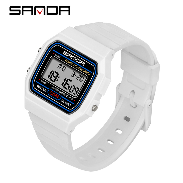 SANDA Kids Watches Anti-Shock 5Bar Waterproof Outdoor Sport Children Watches Fashion Digital Watch Relogio Masculino