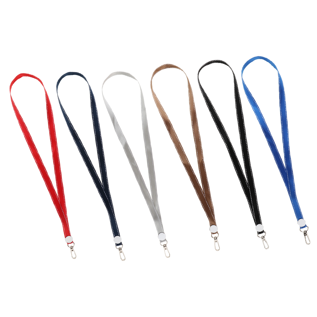 Adults Kids Lanyard ID Nametag Badge Holder Straps Neck Key Chain With Strong Swivel Hooks For Phones Cameras Keychains