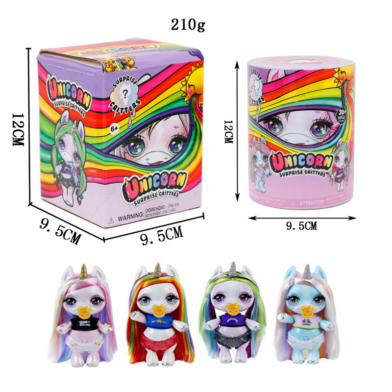 New Poopsie Slime Decompression Toys Unicorn Soft Clay Doll Shiny Rainbow Crystal Mud Rocking For Children Gift