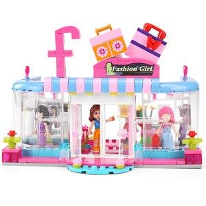 453 шт., серия друзей, строительные блоки, городской школьный автобус, архитектурный дом, модель больничного центра, кирпичи, игрушки для дево...