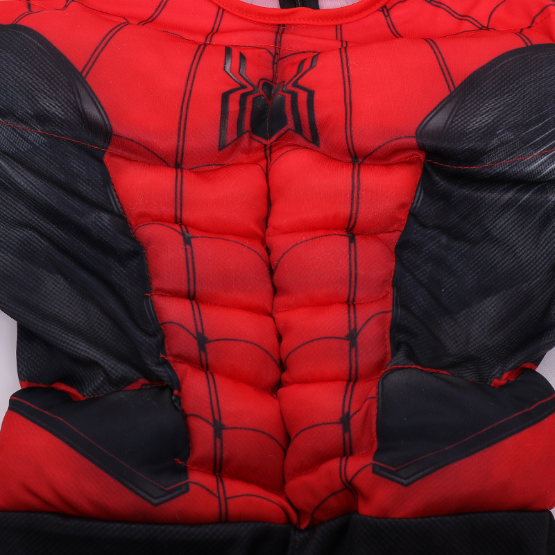 Image 4 - The Newest Spider Suit Child Marvel Spiderman Far From Home Superhero Muscle Kids Halloween Trick or treating Cosplay Costume-in Boys Costumes from Novelty & Special Use