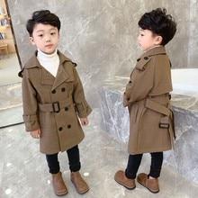Новинка 140 года; зимнее шерстяное пальто; Красивая куртка в клетку для мальчиков; 1 предмет; теплое плотное зимнее пальто для мальчиков; 90- см