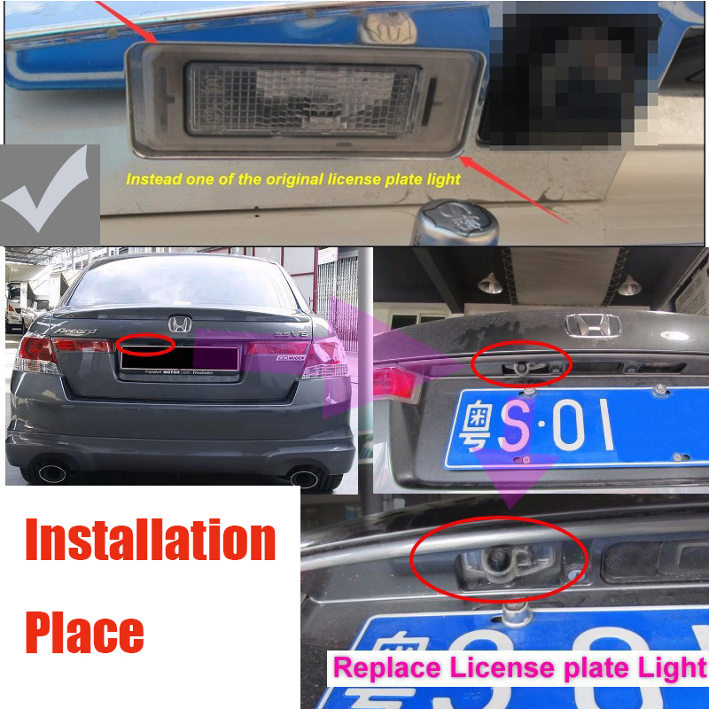 Liislee rearview Rear View Back Up Camera For PAL : NTSC | CCD with RCA Car Camera For Cadillac SLS 2010~2015