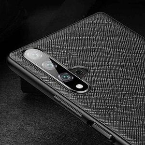 Image 5 - Echt Lederen Case Voor Huawei Honor 20 Pro Case Duurzaam Back Cover Etui Coque Voor Huawei Honor 20Pro Case Bescherming behuizing