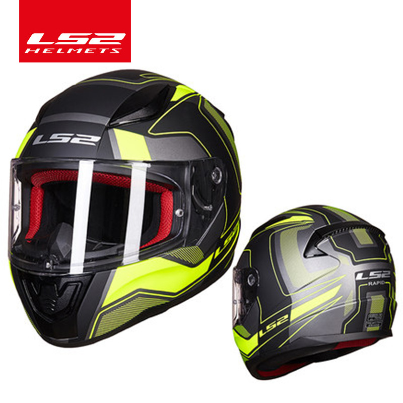 LS2 Global Store LS2 FF353 full face motorcycle helmet ABS safe structure casque moto capacete ls2 RAPID street racing helmets 2