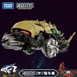 TAKARA TOMY ZOIDS ZW17 Awakening Action Figure  Electric Assembled Model Toy Tiger Deformation Robot Childrens Toys