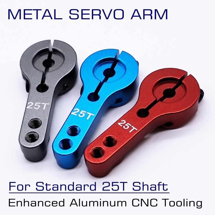 3 Stuecke Aluminium Lenkung Servo Horn Arm 25 T für 1//8 1//10 RC Auto Boot U B1I2