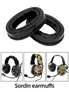 Ear-Cups Silicone for MSA Sordin Headsets Comfort Replacement Sealing Headphone-Accessories