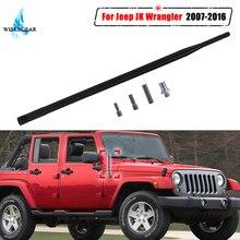 """1"""" автомобильный FM авто радио антенна антенны Усилитель сигнала для Jeep Wrangler JK 2007- резиновые антенны мачты антенны WISENGEAR/"""