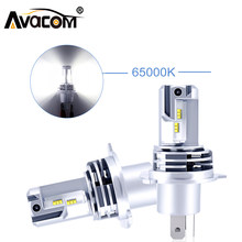 Avacom Mini H4 Led 110W 10000lm H11 H7 Led Bulb Car Headlights H1 Led Lamps 9005 Hb3 9006 Hb4 H3 880 881 9004 9007 H13 6500K 2X(China)