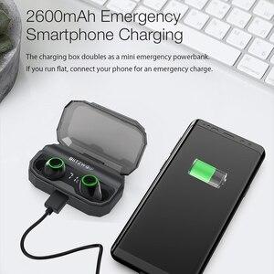 Image 4 - BlitzWolf FYE3S FYE3 TWS gerçek kablosuz Bluetooth 5.0 kulak kulaklık 2600mAh pil şarj dijital güç göstergesi spor kulaklıklar