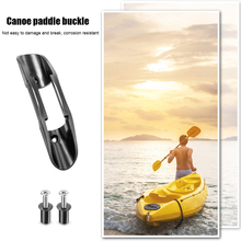 2Pcs Paddle Clips Kayak Marine Boat Paddle Clip Holder Accessories U6I0