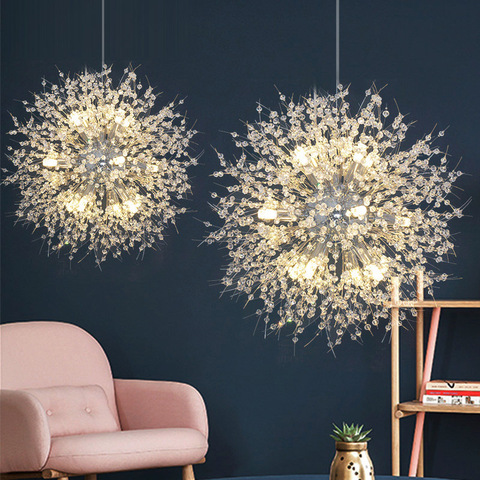 led pingente pendurado luz lustres de cristal restaurante lampada luz