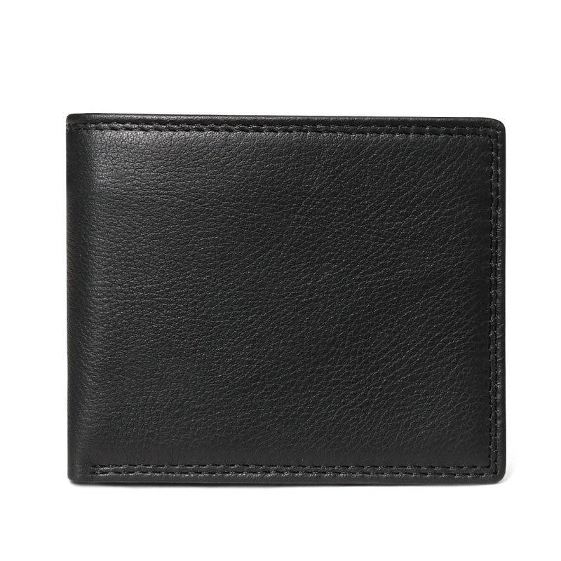 black embossed men wallet