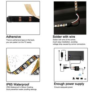 Image 4 - Ambilight TV Backlights Flexible LED light Tape Ribbon RGB Color Changeable TV Background Lighting HDTV TV HDMI sources Kit