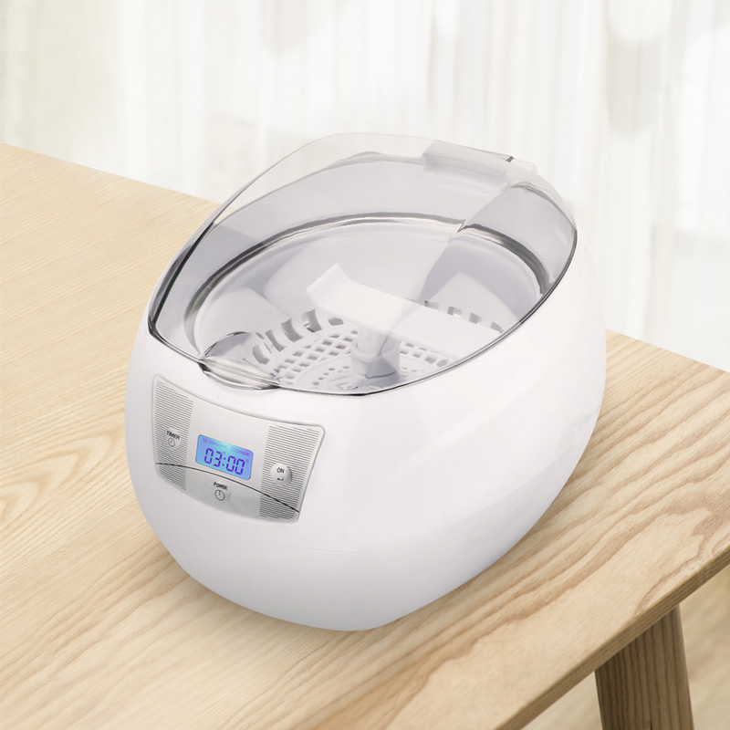Skymen Ultrasonic Cleaner Jewelry Cleaner For Manicure Cutters Tools Denture Glasses Razor Coins Ultrasound Cleaning Machine