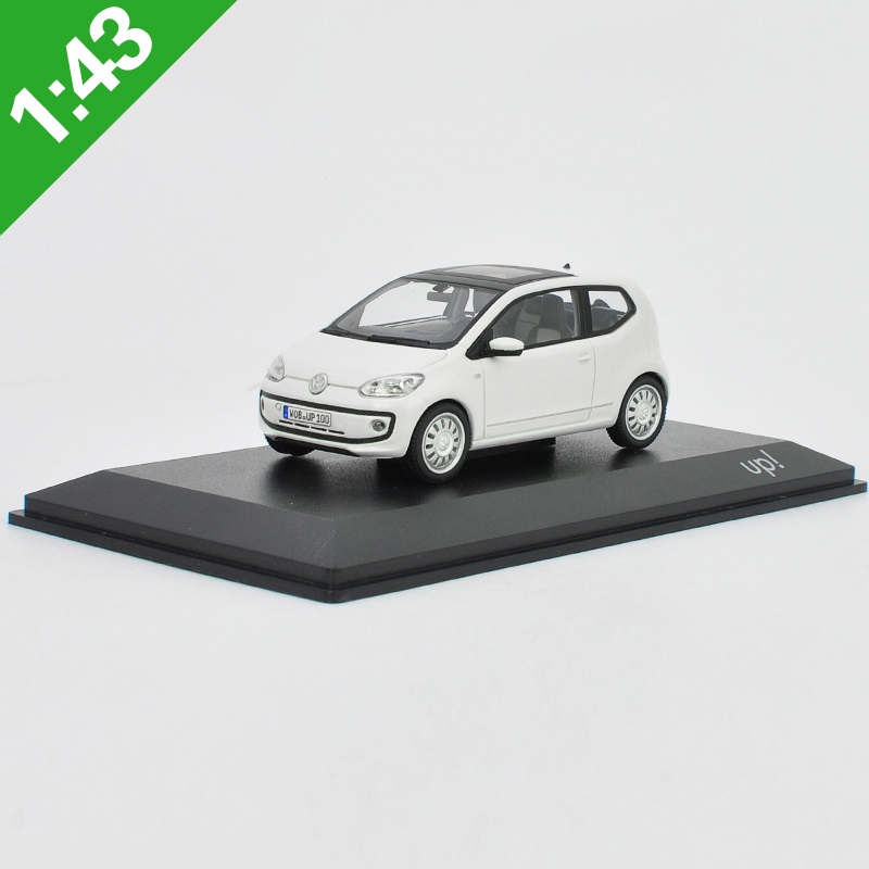 High Meticulous 1:43 Volkswagen UP Alloy Model Car Static Metal Model Vehicles Original Box For Gifts Collection