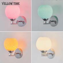 Светодиодный настенный светильник с e27 110v 220v прикроватный