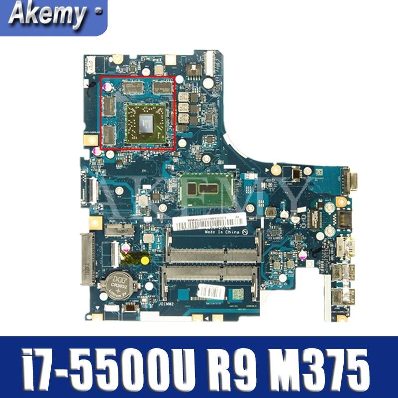 SAMXINNO For Lenovo Z51-70 AIWZ0/Z1 LA-C282P Laotop Mainboard LA-C282P Motherboard With I7-5500U CPU Radeon R9 M375/4G