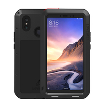 Shockproof Case For Xiaomi Mi Max 3 Metal Fundas Max3 Rugged Capa Armor Phone Cover Coque